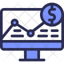 Computer Chart Strategy Icon
