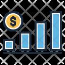 Analytics Graph Growth Icon