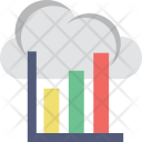 Analytics Cloud Online Icon