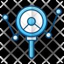 Analysing Marketing Analysis Icon