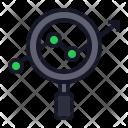 Analytics Magnify Identity Icon