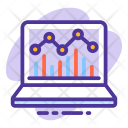 Analytics Website Monitoring Icon
