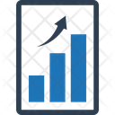 Analytics Business Growth Graph Icon