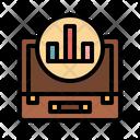 Analytic Computer Profits Icon