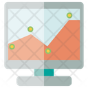 Monitor Desktop Graph Icon