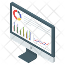 Analytics Statistical Analysis Business Graph Icon