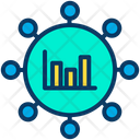 Bar Graph Chart Infographic Icon