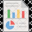 Business Document Analytics Statistics Icon