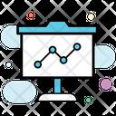 Statistics Analytics Trend Chart Icon