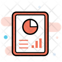 Statistics Analytics Business Presentation Icon