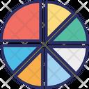 Analytics Circle Chart Diagram Icon