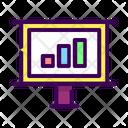 Business Analitycs Diagram Icon