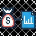 Analytics Business Analysis Money Bag Icon