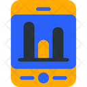 Stat Smartphone Analytic Icon
