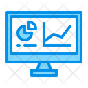 Analytics Graph Monitoring Icon