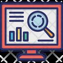 Analytics Chart Analysis Online Analysis Icon
