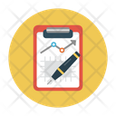 Report Analytic Clipboard Icon
