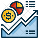 Analytic Statistics Money Icon