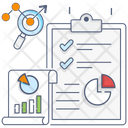 Business Analytics Business Report Business Statistics Icon