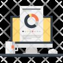 Analytics Chart Computer Icon