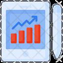 Analytics Statistics Report Icon