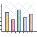 Analytics Bar Chart Infographics Icon