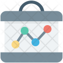 Analytics Business Graph Icon
