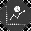 Analytics Diagram Line Chart Icon