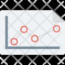 Analytics Graph Report Icon