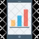 Analytics Infographic Mobile Icon