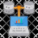 Analytics Server Database Icon