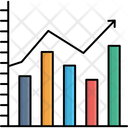 Analytics Bar Chart Business Graph Icon