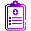Analytics Diagram Checklist Icon