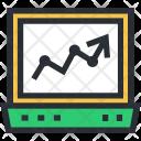 Analytics Graphs Diagram Icon