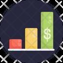 Analytics Money Earn Icon