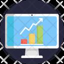 Analytics Content Writing Website Icon