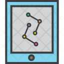 Analytics Tablet Graph Icon