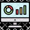 Analytics Computer Montoring Icon
