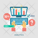 Analytics Creative Process Icon