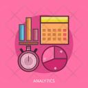 Analytics Data Graph Icon