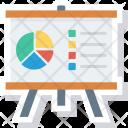 Analytics Graph Presentation Icon