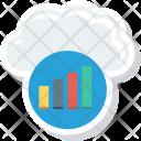 Analytics Barchart Cloudcomputing Icon