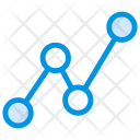 Analytic Statistic Graph Icon