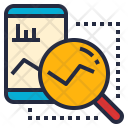 Analytics Application Research Icon