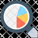 Analytics Magnifier Cogwheel Icon