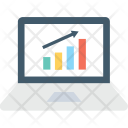 Online Graph Bar Icon