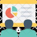 Analytics Graph Board Icon
