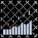 Candlestick Diagram Market Icon