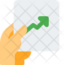 Analytics Chart Growth Chart Line Chart Icon