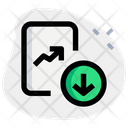 Analytics Chart Download Icon
